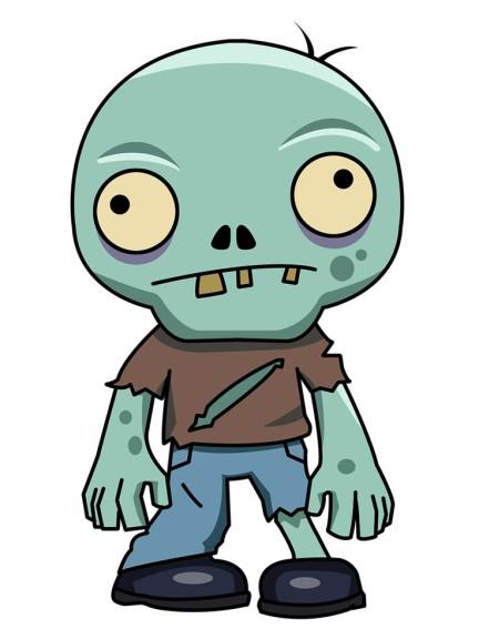 Zombie qui fait peur