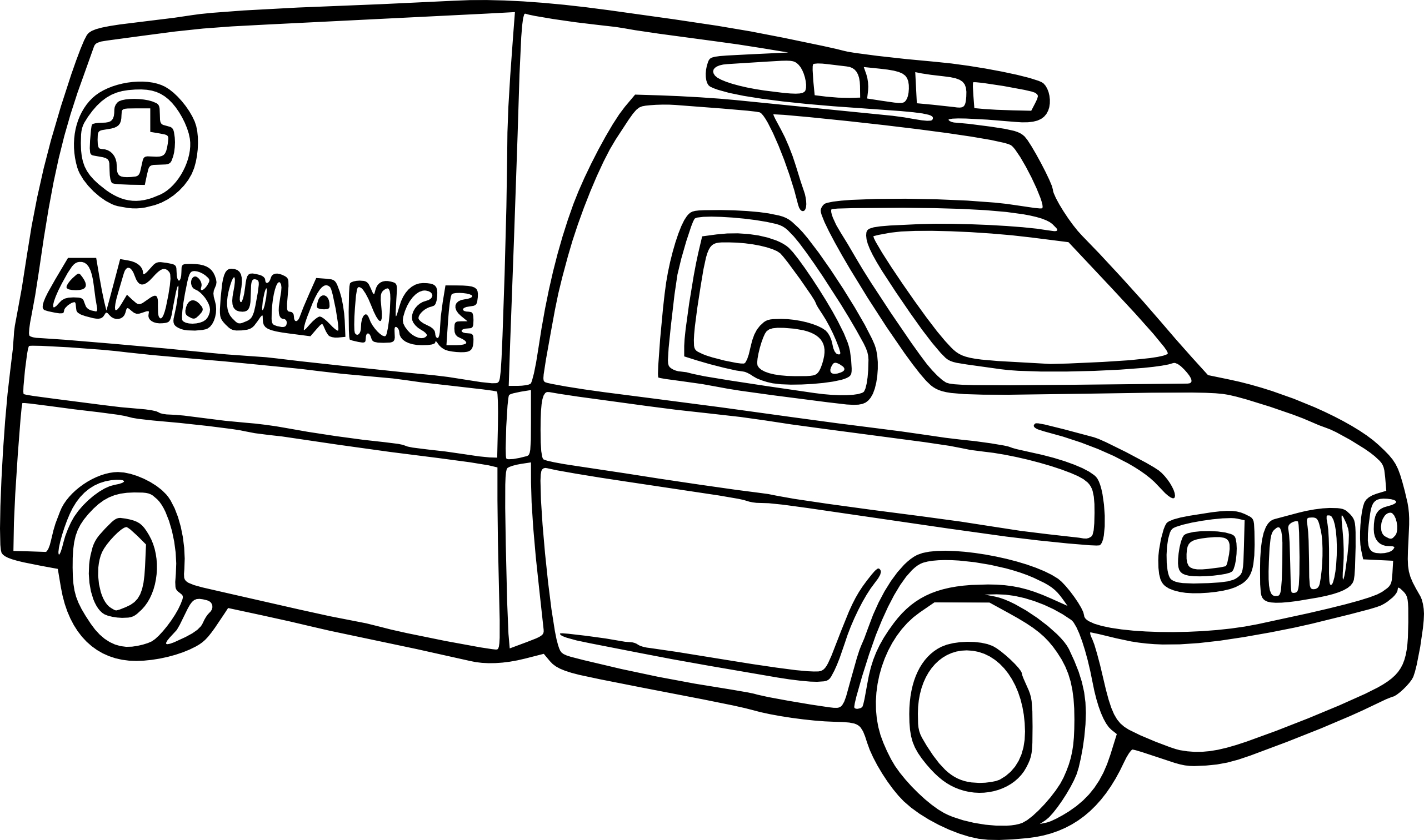 Dibujos De Ambulancias Para Colorear E Imprimir: Ambulance Coloring Pages Print