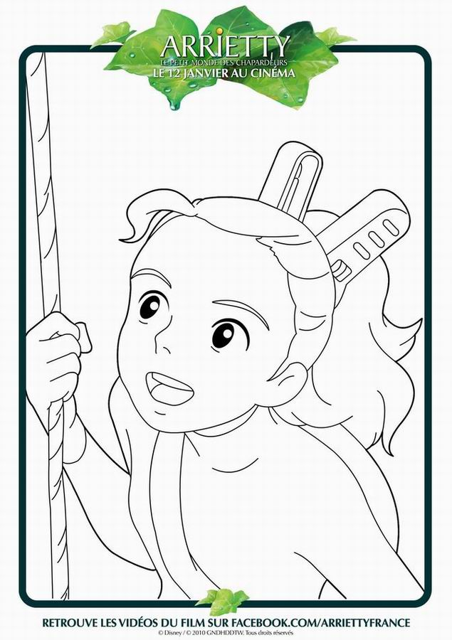 Arrietty dessin