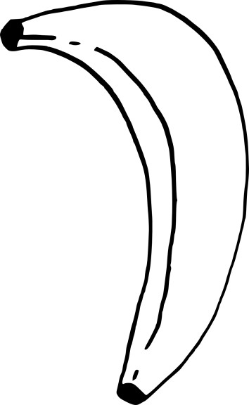 Banane dessin
