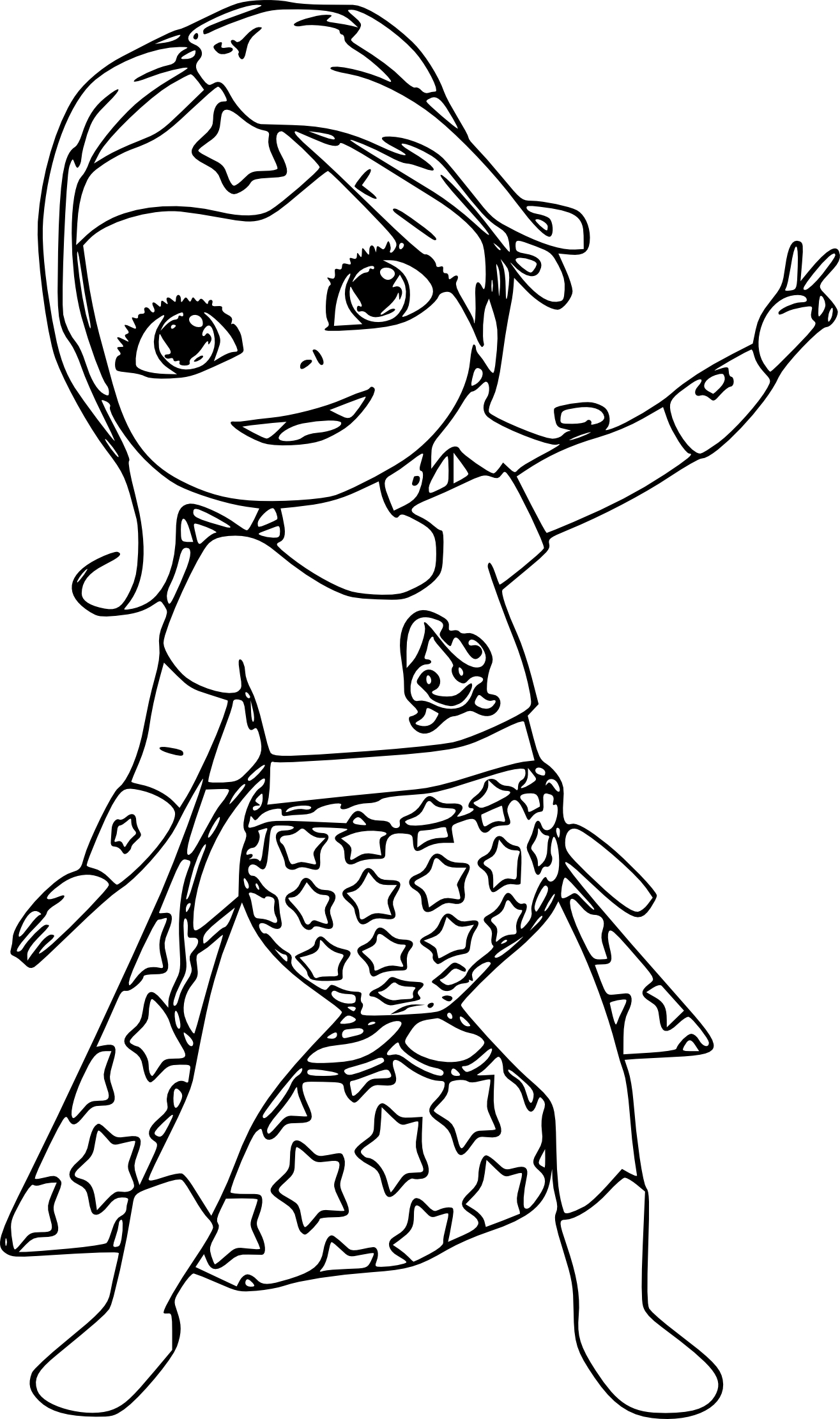 Coloriage bebe lilly et dessin imprimer - Dessin de colombe a imprimer ...