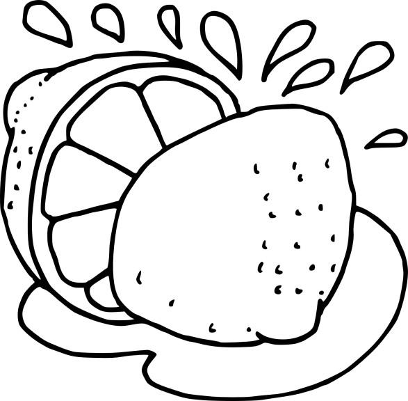 Citron dessin