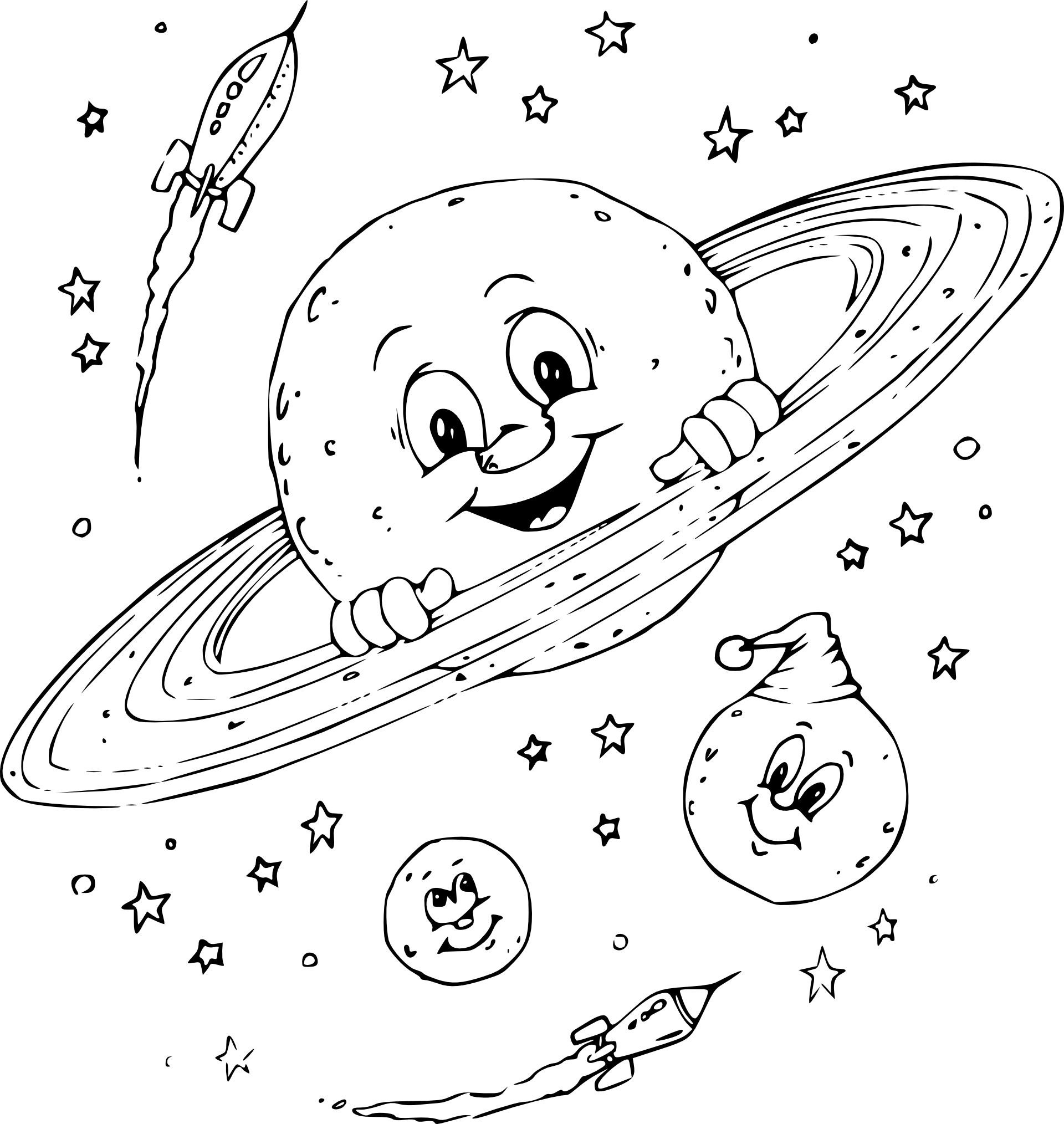 venus coloring pages outer space - photo#18