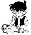Coloriage Detective Conan