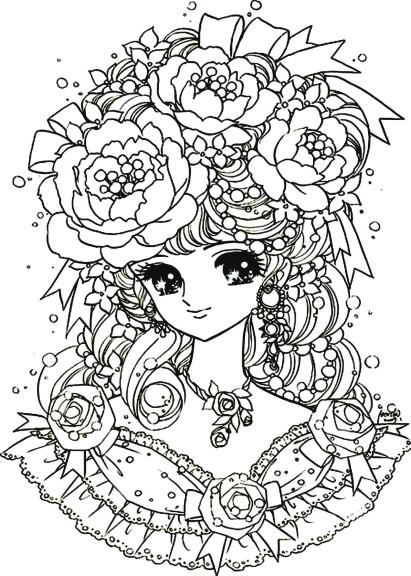 Coloriage fille manga difficile imprimer - Moxie girlz pagine da colorare ...