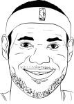 Coloriage LeBron James