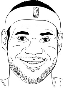 Coloriage LeBron James