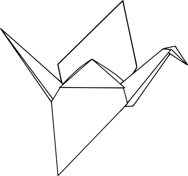 Coloriage origami