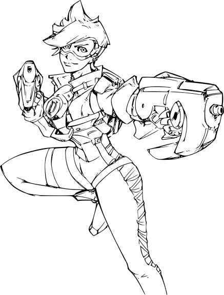 Coloriage Overwatch