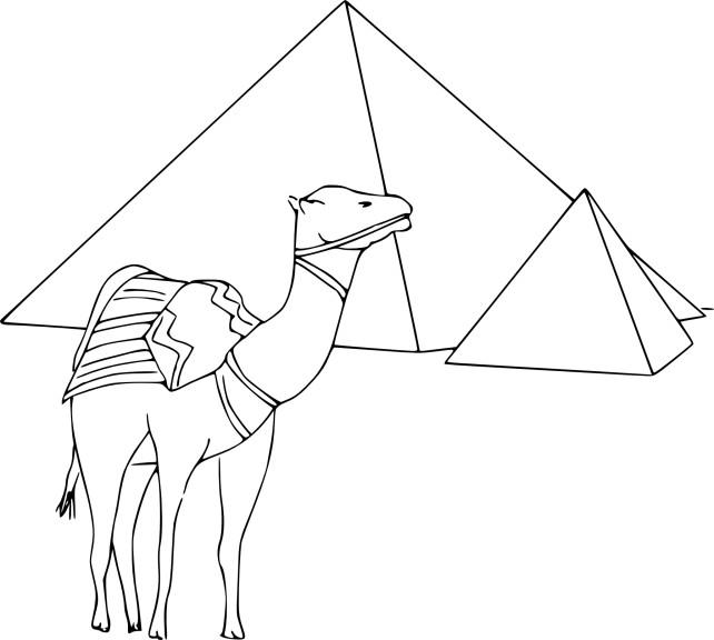 Coloriage Pyramides D Egypte 224 Imprimer