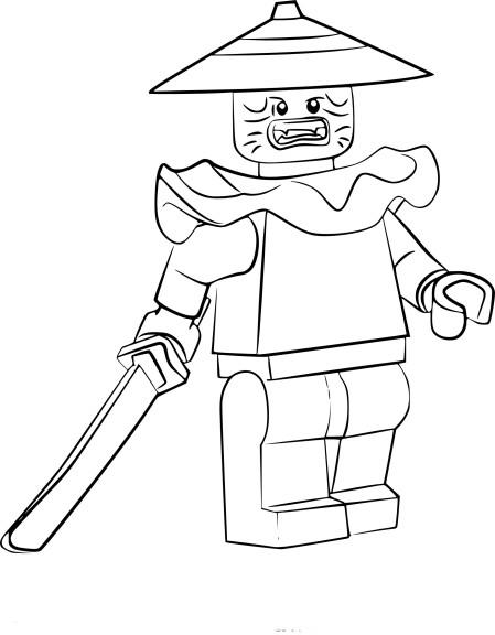 Coloriage swordsman ninjago imprimer - Dessin de ninjago a imprimer ...