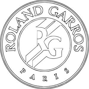 Coloriage Tennis Roland Garros