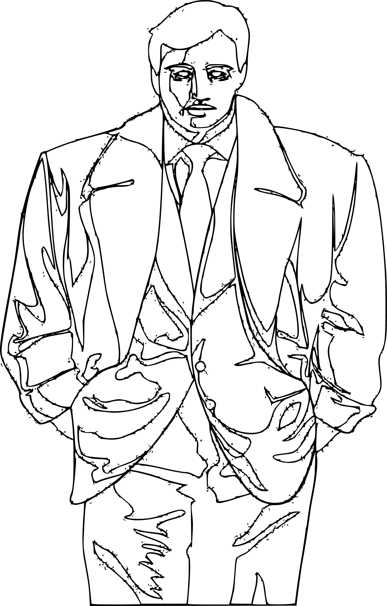 Coloriage Gangster