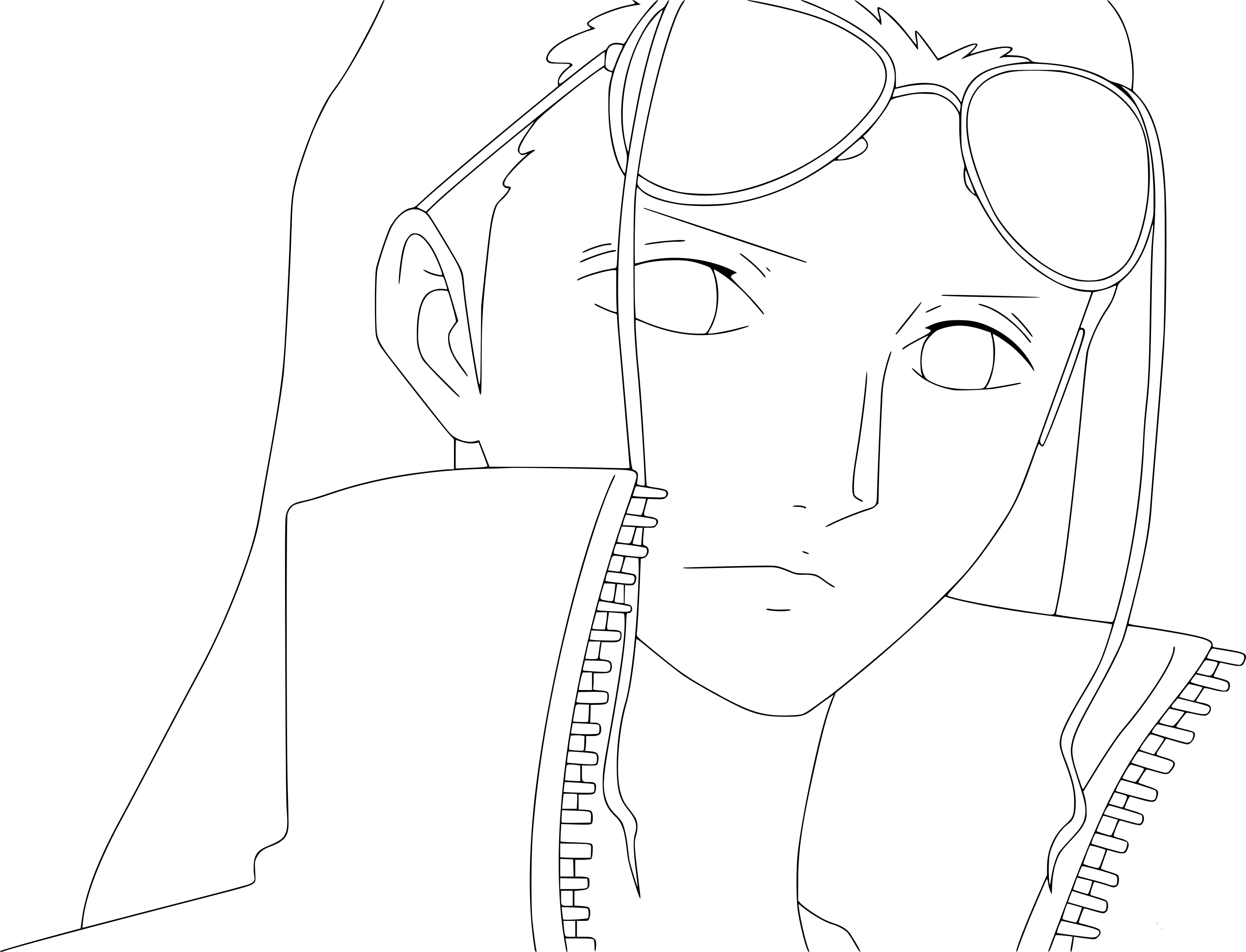 Coloriage nico robin one piece imprimer - Coloriage one peace ...