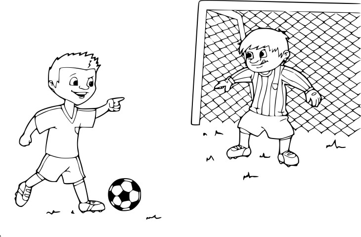 Coloriage penalty