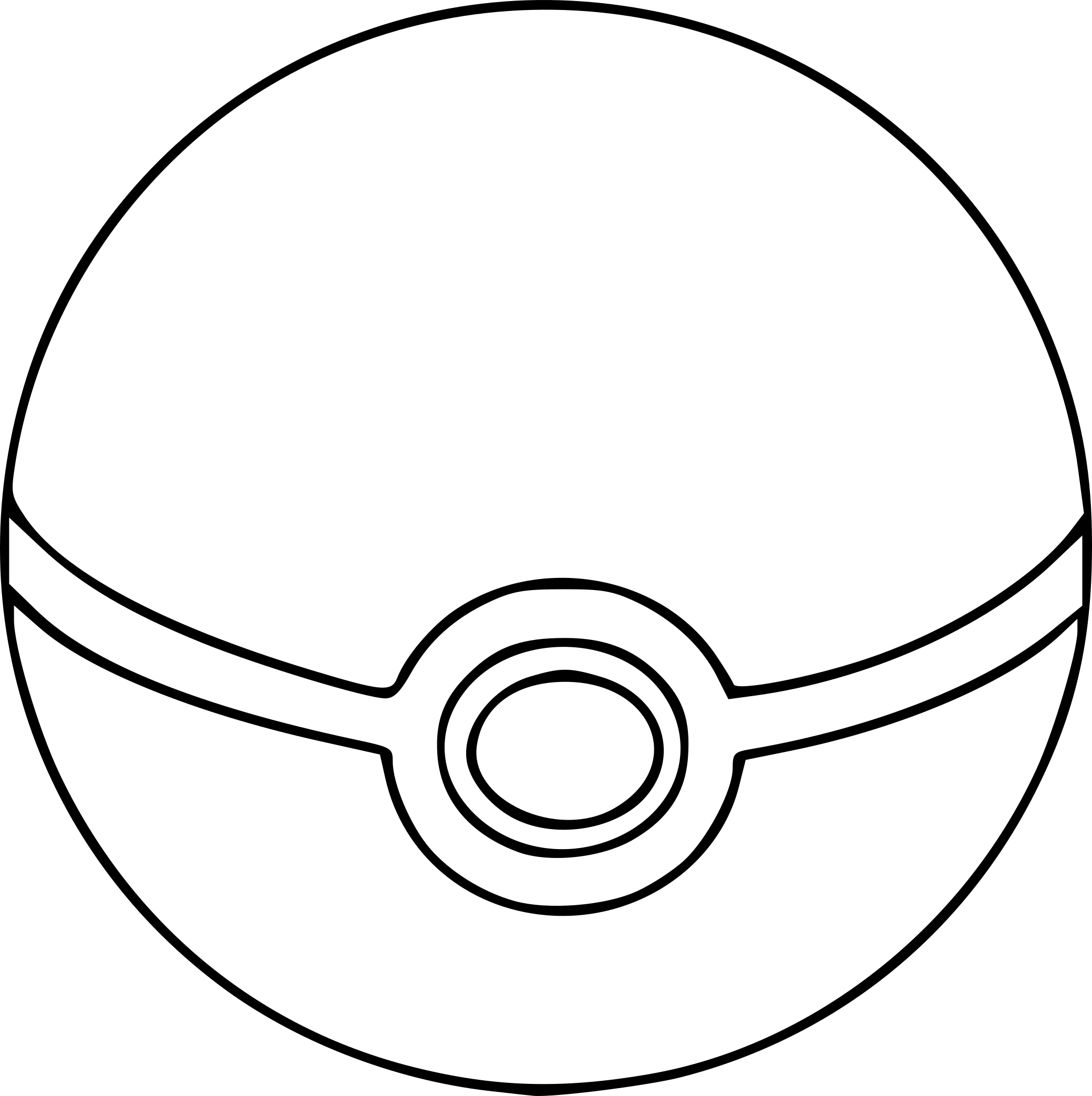 Coloriage Pokeball à Imprimer