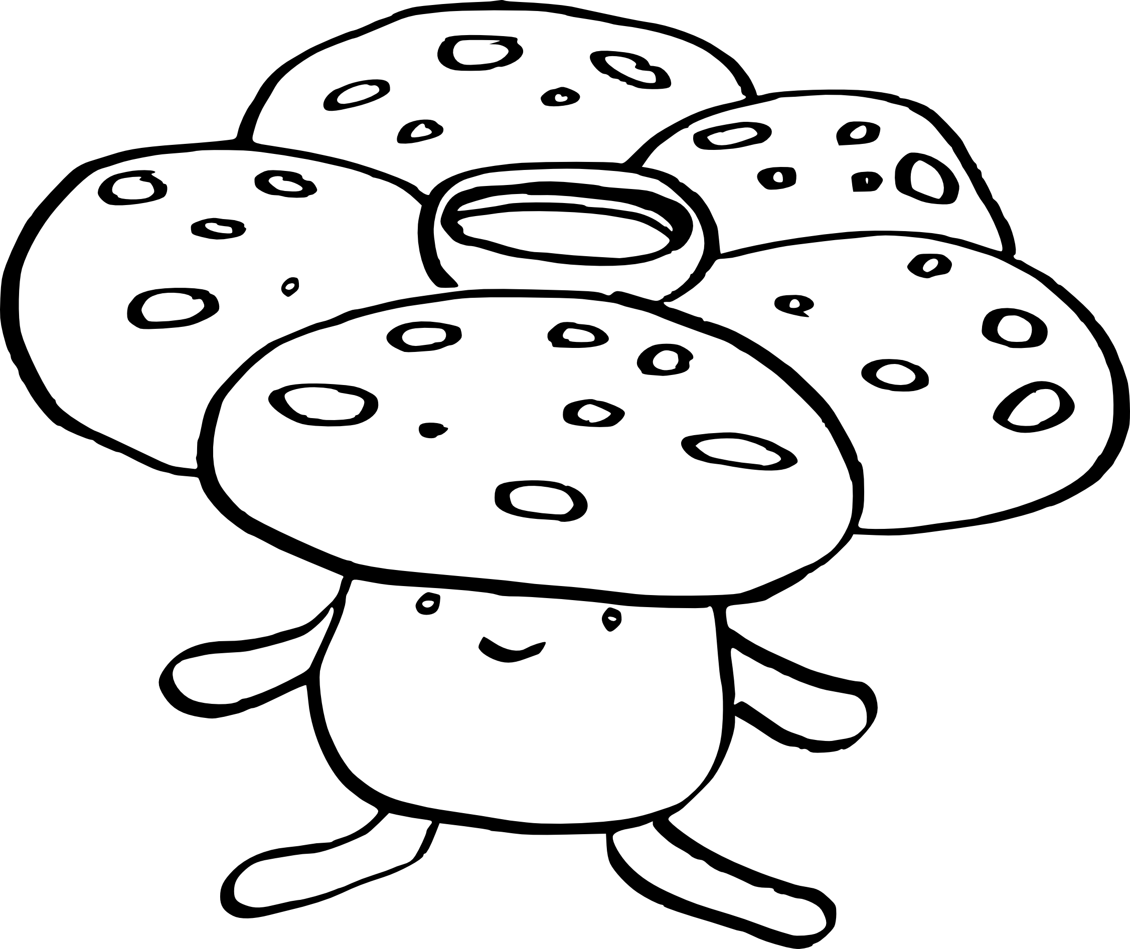 pokemon gloom coloring pages - photo#12