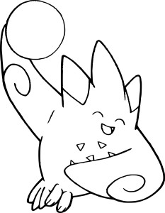 Coloriage Togekiss