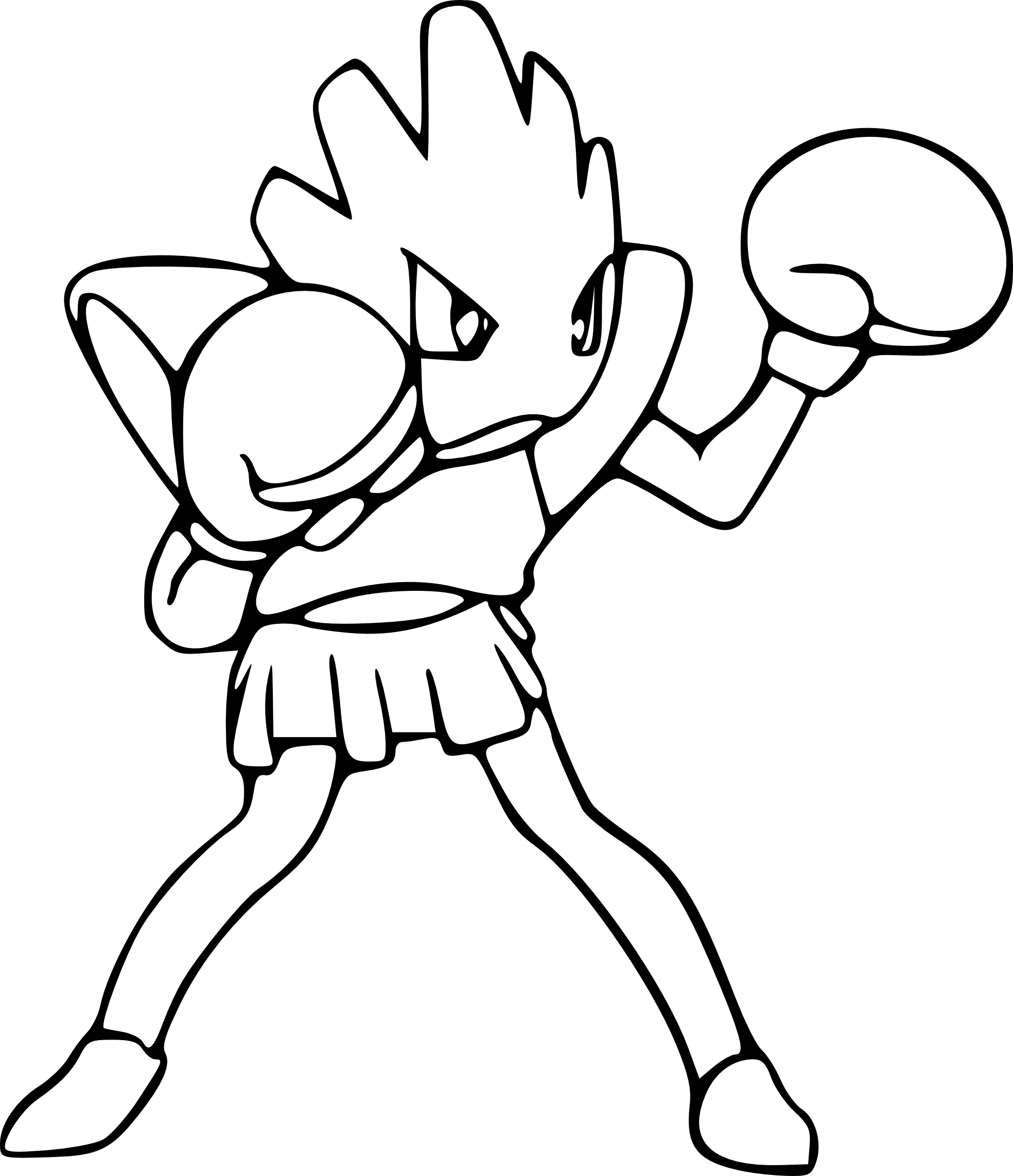 Pokemon Master Ball Coloring Pages