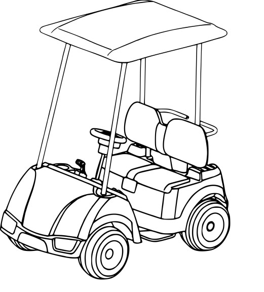 coloriage voiture de golf imprimer. Black Bedroom Furniture Sets. Home Design Ideas