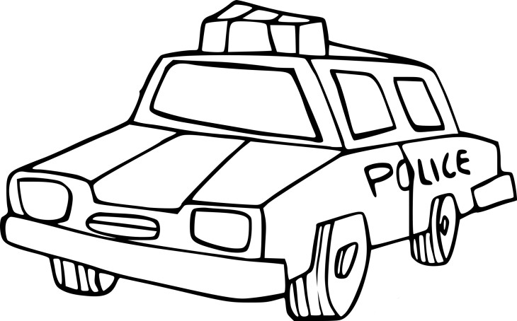 coloriage voiture de police imprimer. Black Bedroom Furniture Sets. Home Design Ideas