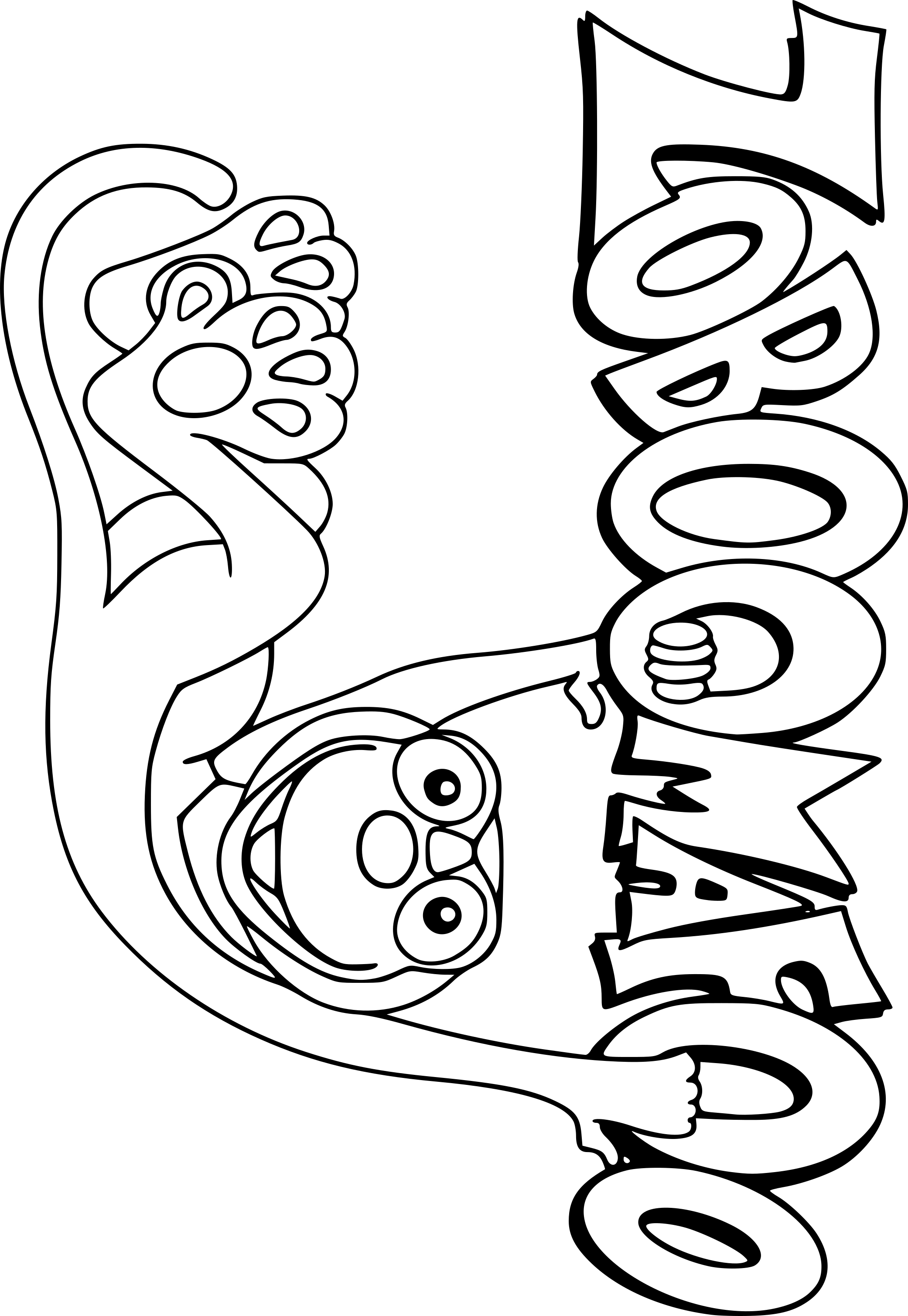 Coloriage Zoboomafoo