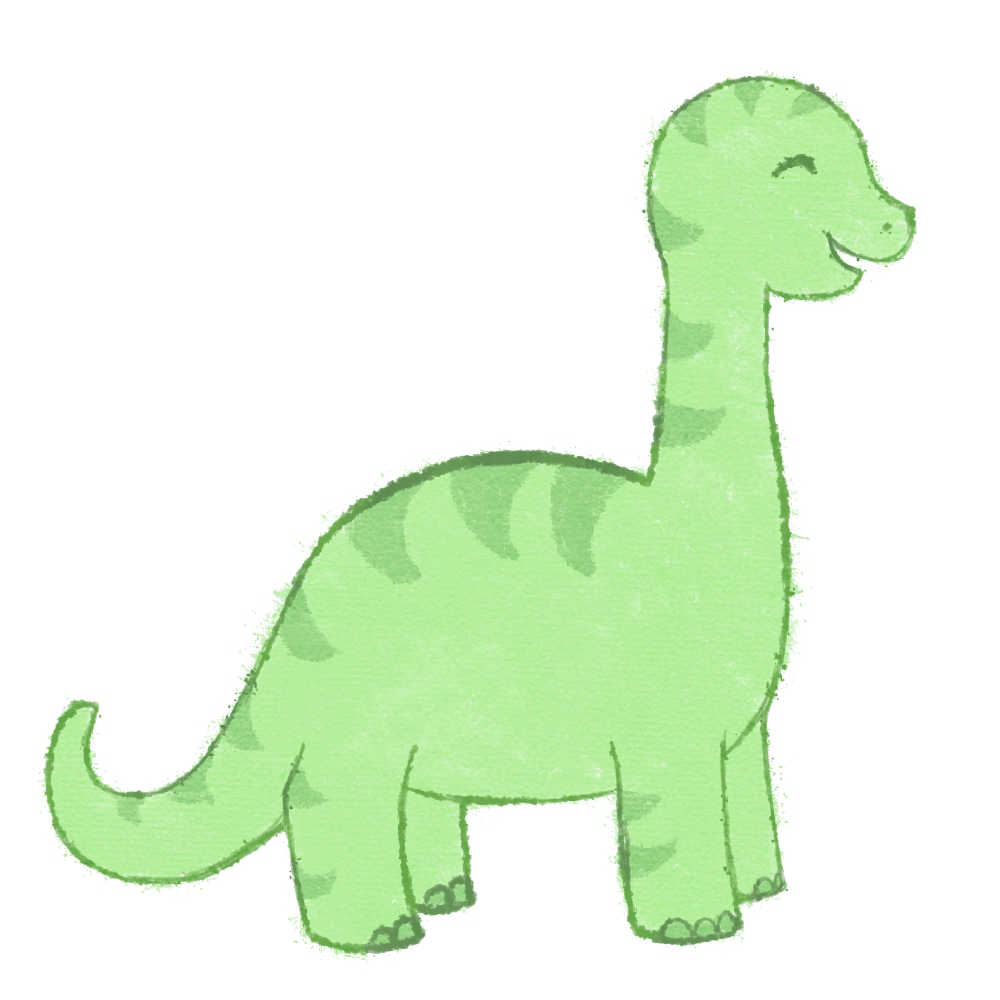 Coloriage Dinosaure Facile A Imprimer