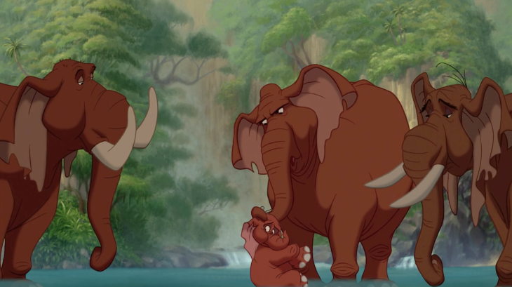 Elephant Tarzan