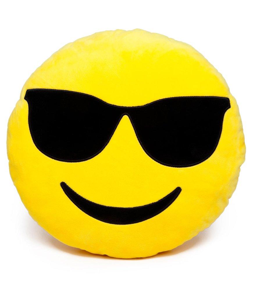 Coloriage Emoji cool à imprimer
