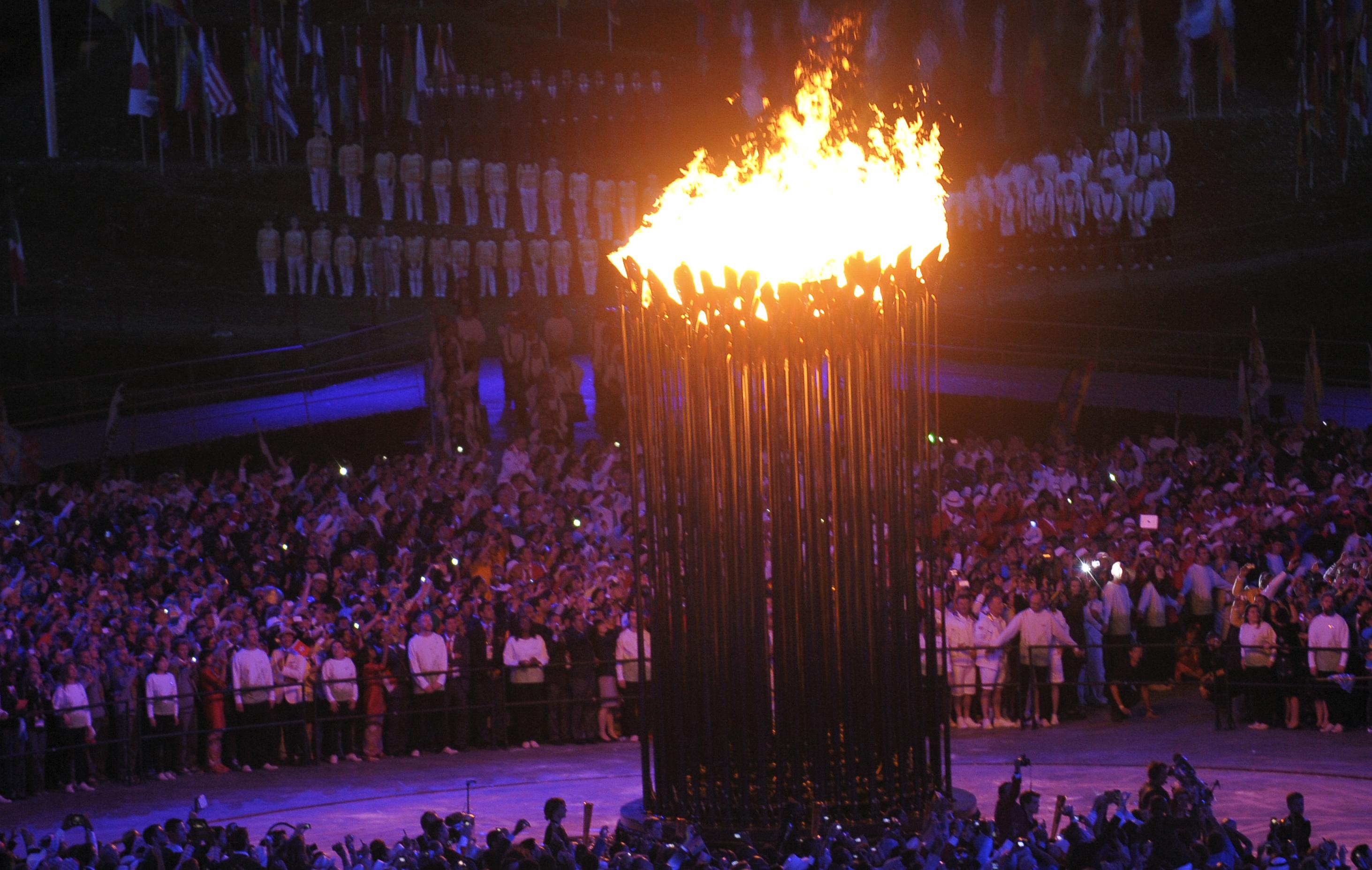 Jeux olympique flamm coloriage - Flamme olympique dessin ...
