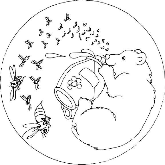 Mandala animaux dessin