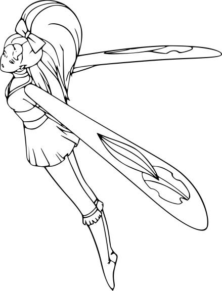 Sky Dancer dessin