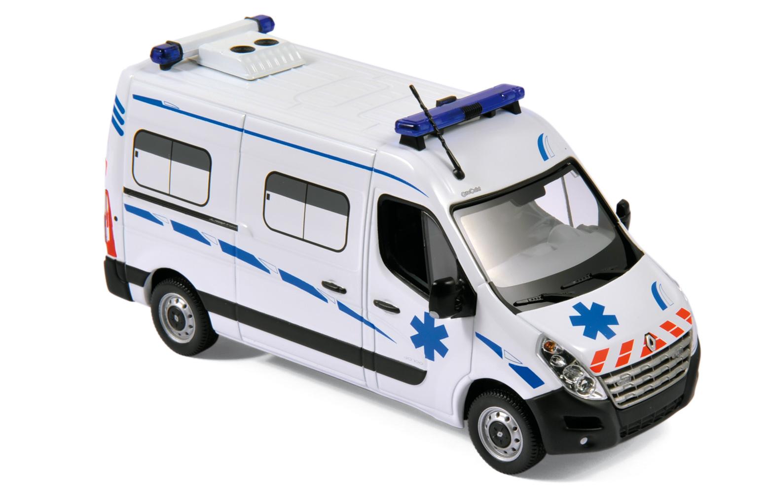 Coloriage camion ambulance à imprimer