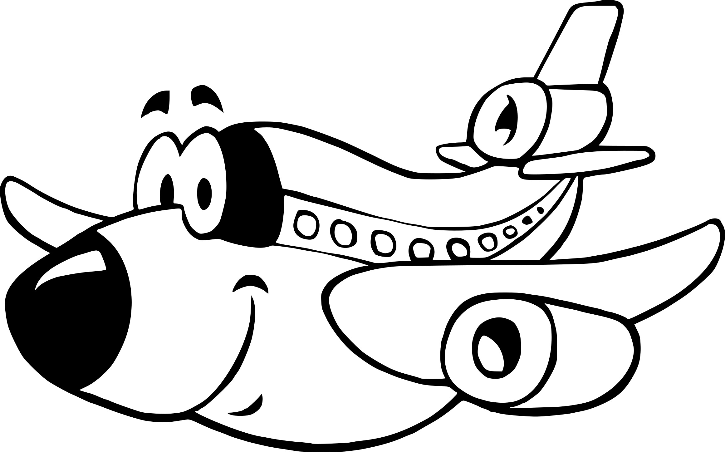 Coloriage avion enfant imprimer - Dessin d avion facile ...