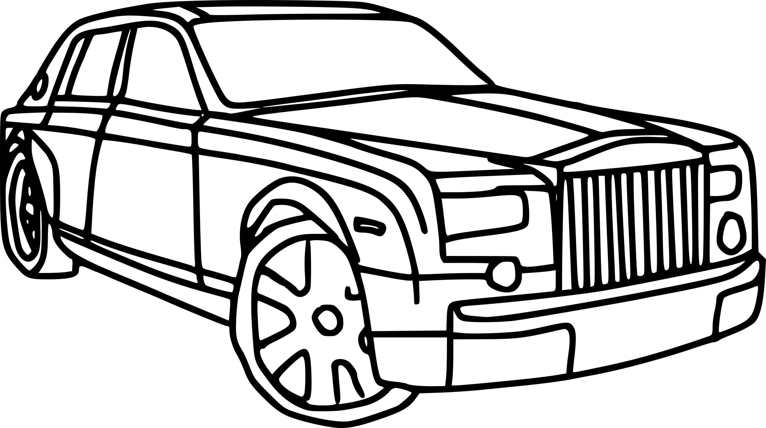 Coloriage voiture Rolls Royce à imprimer