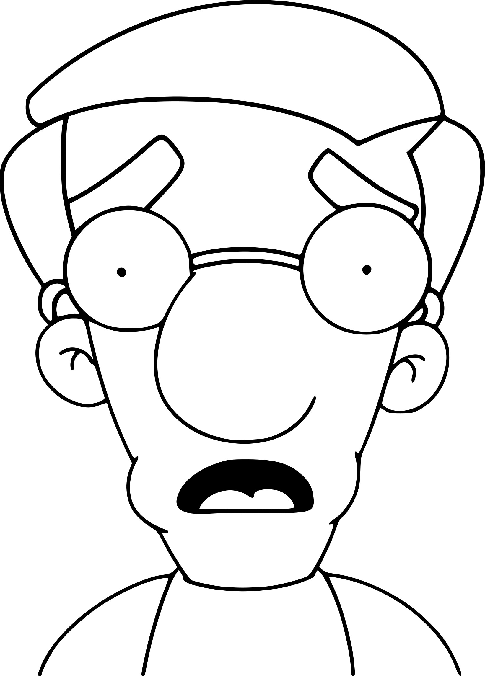 Coloriage Simpson Milhouse