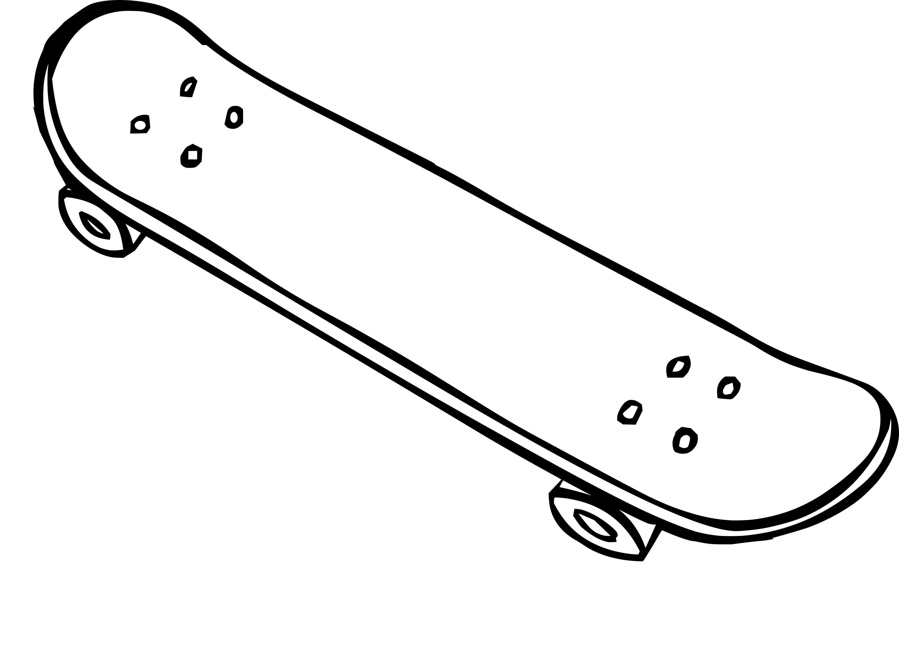 Coloriage skateboard