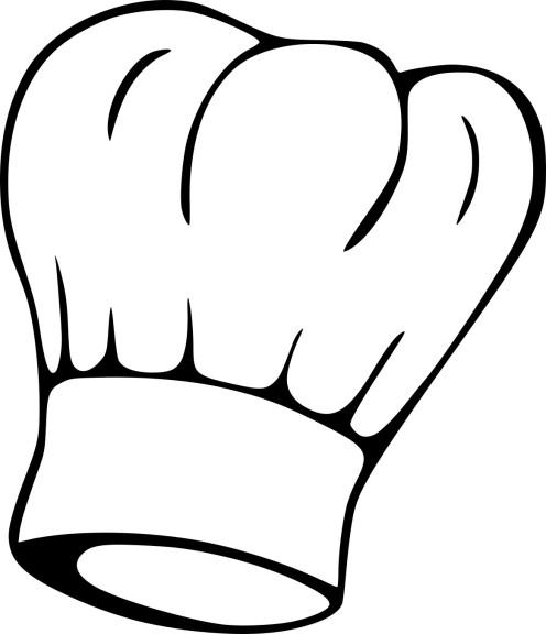 Coloriage toque de cuisinier