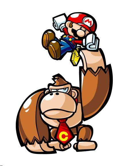 Donkey Kong et Mario