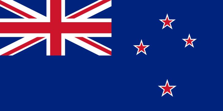 Drapeau Nouvelle Zelande