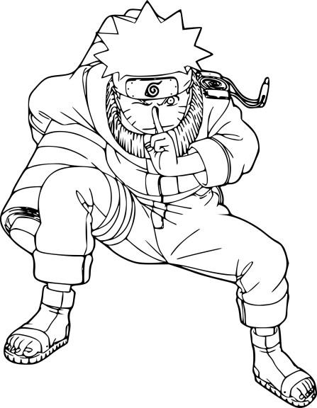 Coloriage Naruto et dessin à imprimer