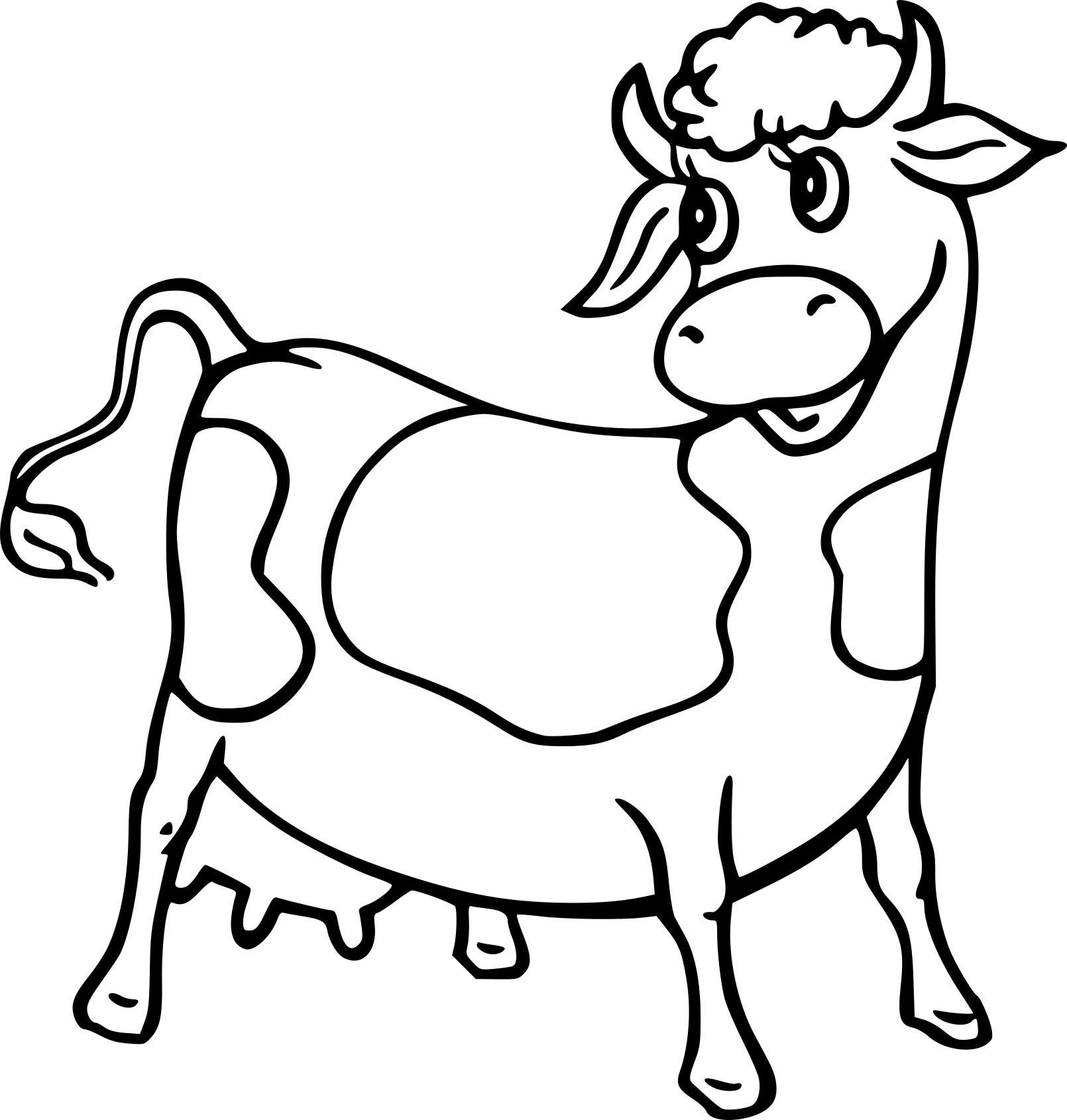 Vache dessin