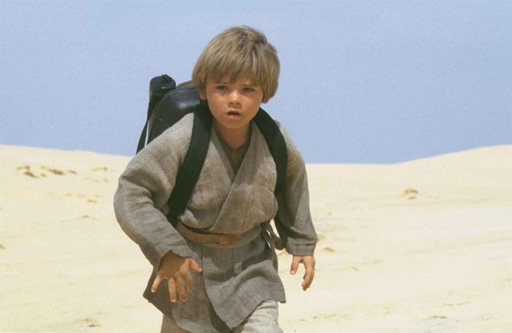 Anakin Skywalker enfant