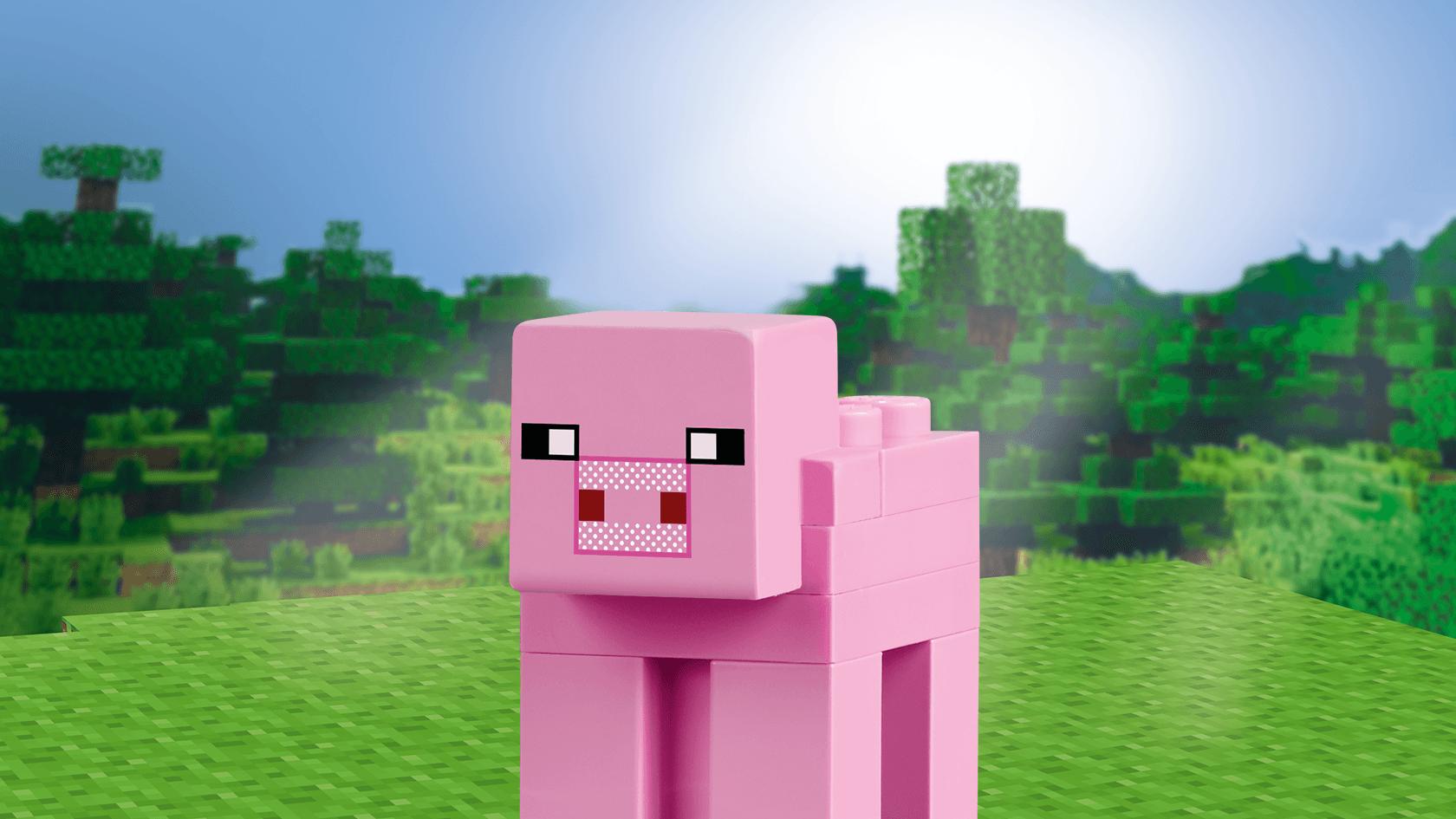 Coloriage cochon minecraft imprimer - Minecraft cochon ...