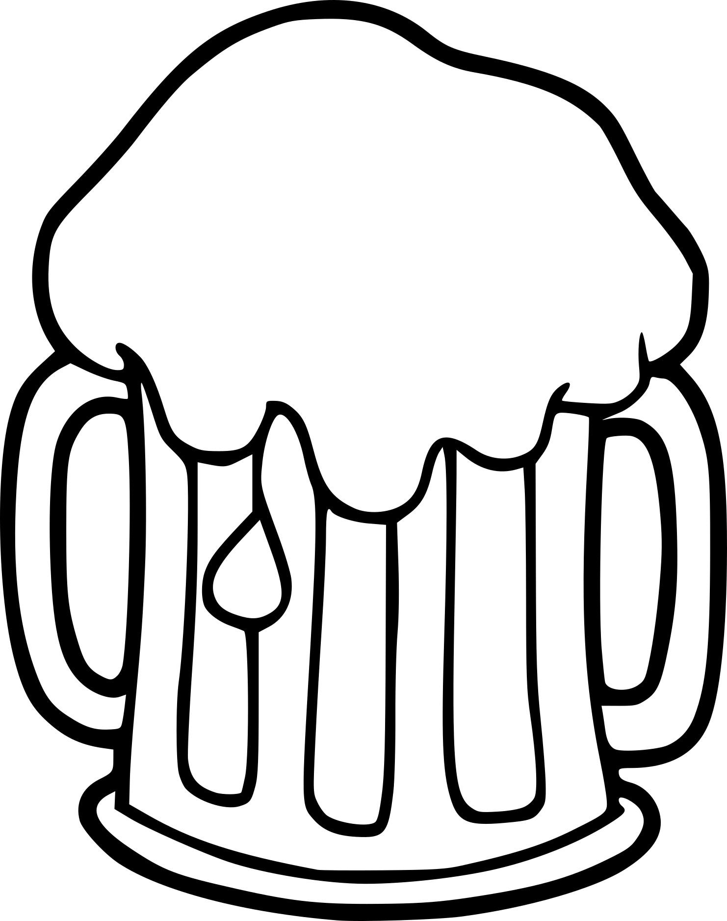 Coloriage Bière