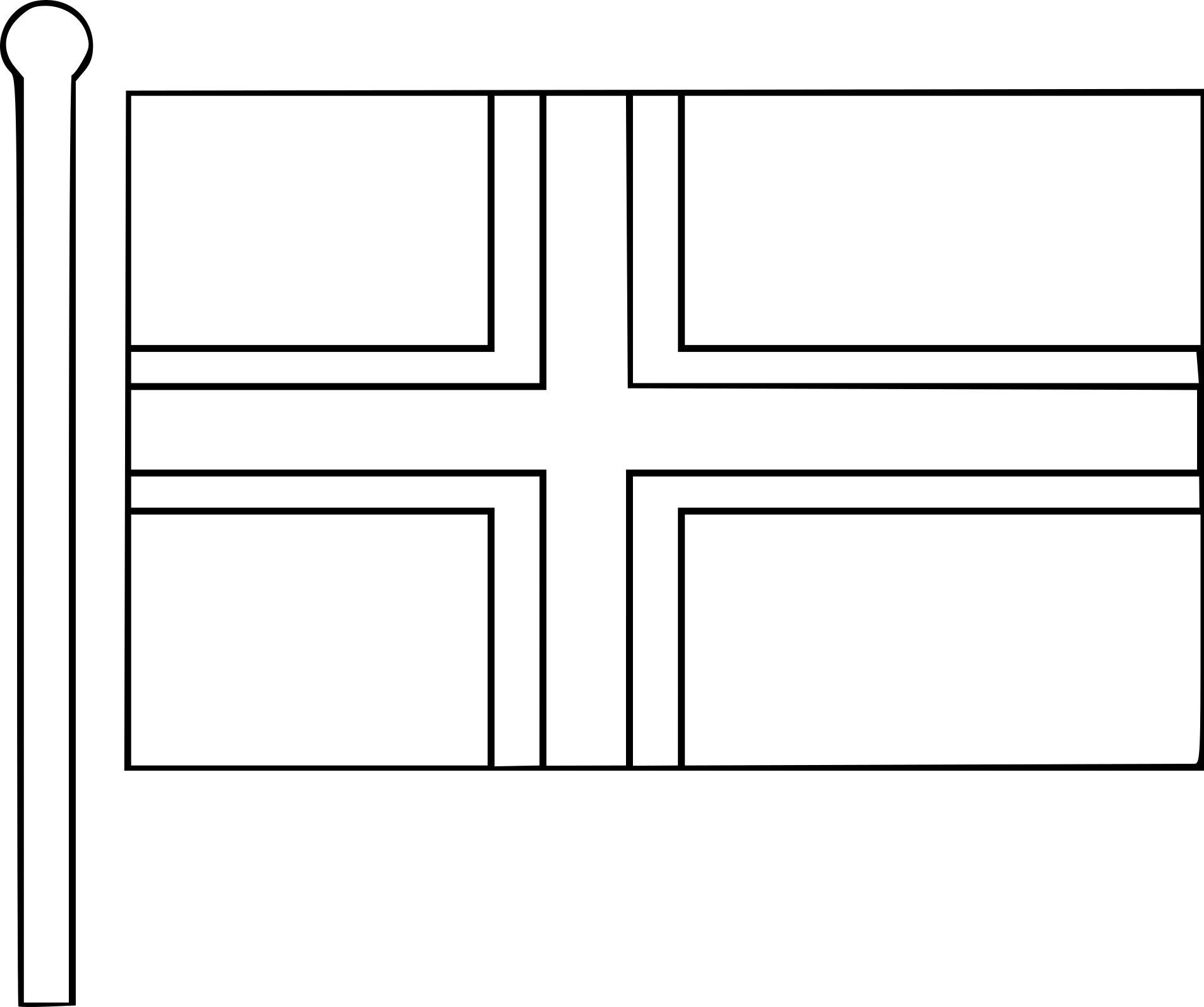 Coloriage drapeau de norv ge imprimer - Drapeau du canada a colorier ...