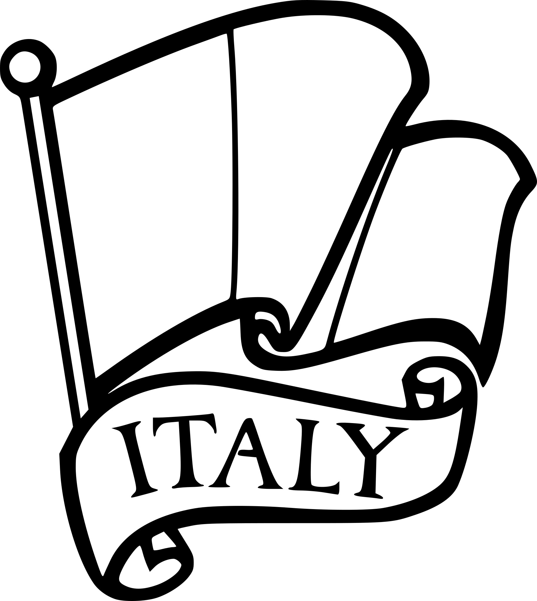 Coloriage drapeau Italie