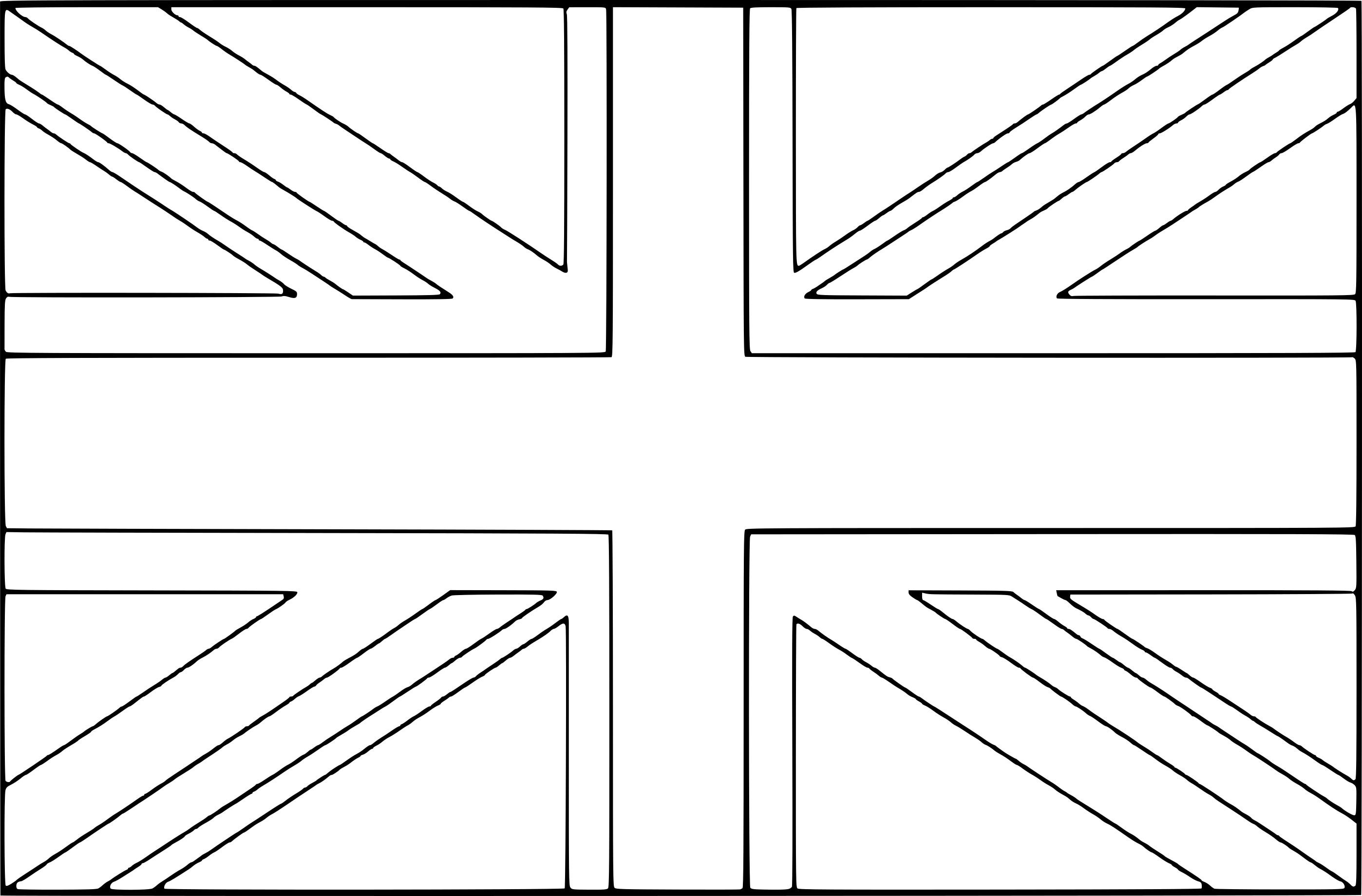 Coloriage drapeau Royaume-Uni