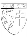 Coloriage foot Metz