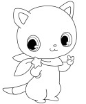Coloriage Jewelpets chat
